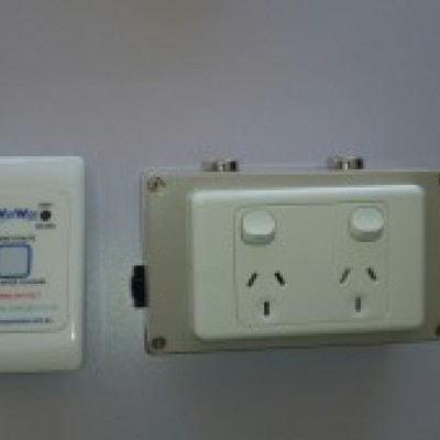 Photo of Chlorine System Electrical box and internal Alarm panel