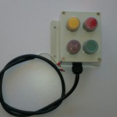 Photo of Domestic External Alarm Can be connected to Model 10NR or Chlorine Electrical box